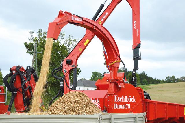 Eschlböck Biber 78 ZK -traktorihakkuri