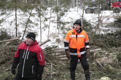 Orimattila 7.1.2015 - CUTTING AGE TOUR - uusien Komatsu -harvestereiden esittelykierros