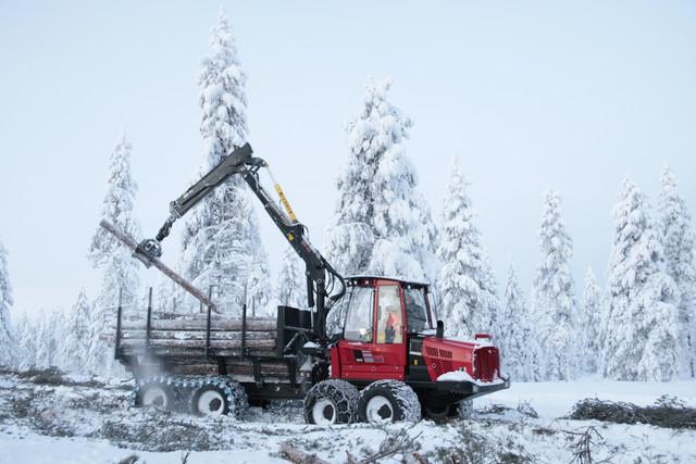Rovaniemi 23.1.2015 - CUTTING AGE TOUR - uusien Komatsu -harvestereiden esittelykierros
