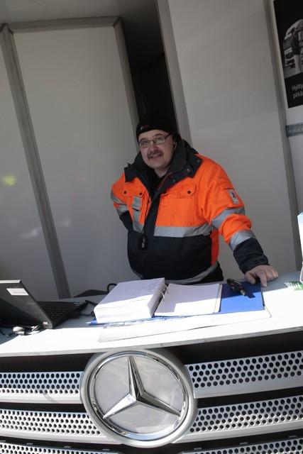 Puunkuormaajamestari 2015 kiertuestartti Tampere - Veho Pirkkala 13.4.2015