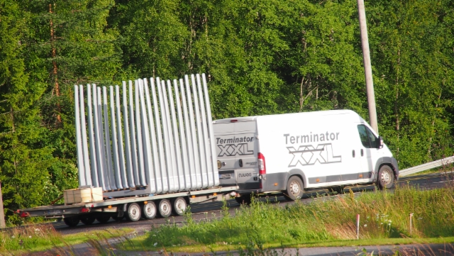 Koko yhdistelmän 12 Terminatoria - rahtivapaasti asennukseen.