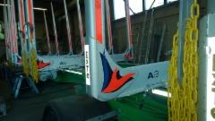Myytävänä 8 kpl EXTE A9 perävaunusarja varusteineen, - Alle 6 kk ajetut !!!Edullisesti.