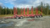 Ketosen Kuljetuksen viisiakselinen ja tukevarakenteinen 42 tonnin kokonaispainoinen MST-puutavaraperävaunu. Pankot Terminator XXL 11 CE 6 kpl .