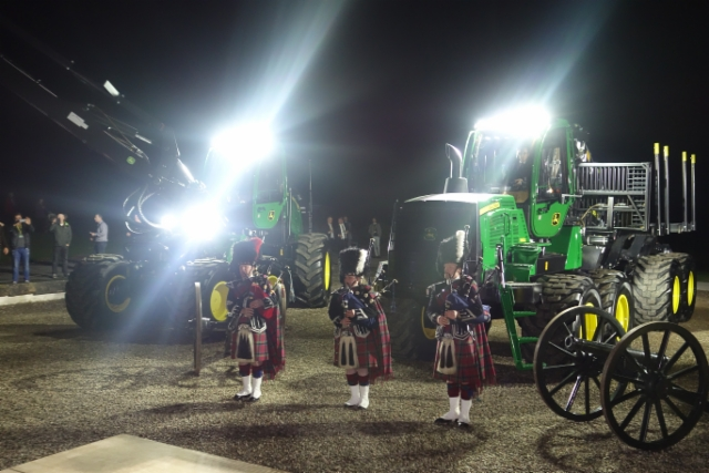 John Deere G-sarjan lanseeraus, Skotlanti, 21.-22.10.2015