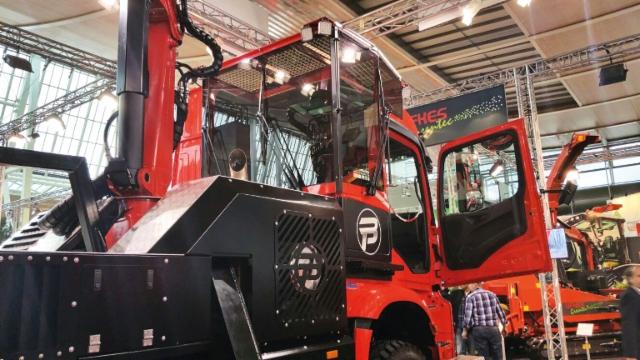 Uusi Eschlböck Biber Power Truck -autohakkurikonsepti - lisätietoja www.salo-machinery.com