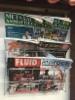 Metsäalan Ammattilehti, Kivirock ja FluidFinland lehdet Neste Keimolan lukutelineessä - ammattilehdet kiinnostavat pääkaupunkiseudullakin