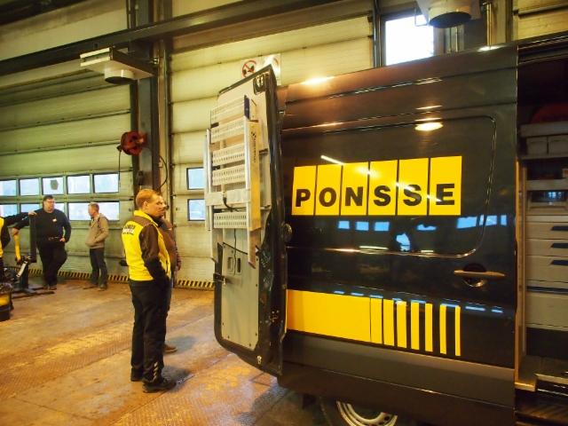PONSSE Tampere 10 v asiakaspäivä 11.12.2015