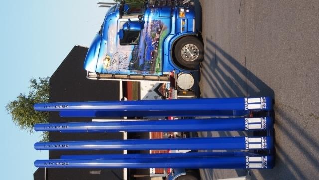 Terminator XXL 8.8 CE pankkomalliston ensiesittely tapahtui viime vuoden elokuussa. Härmän Power Truck Showssa oli esillä kokonainen väripaletti uutuuspankkoja , sekä Terminator XXL ARCTIC nostokoukkusarjat.