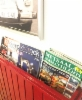 Stop-Cafe Nurmijärvi Hki-Tre moottoritiellä - Metsäalan Ammattilehti, Kivirock ja FluidFinland lehdet lukutelineen suosikkeja