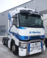 International Truck of the Year- tittelin voittaneita Renault Trucks T-sarjalaisia myytiin Suomeen 37 kpl verran 2015