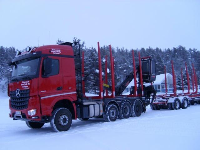 Suomen pohjoisimmassa puutavarayhdistelmässä on 100 prosenttinen Terminator varustus.