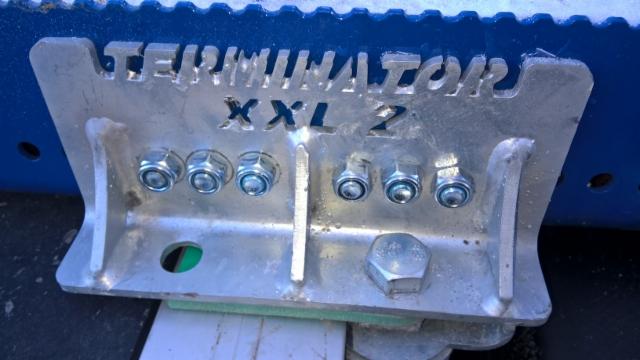 Terminator XXL 2016 vakiokiinnike on tukeva ja monikäyttöinen ja sopii suoraan kaikille runkoleveyksille.