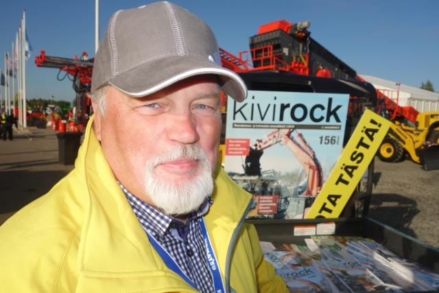 "Kivenkovat Maxpossa: Jari Salomäki ja Kivirock-lehti ""Soon totuus"""