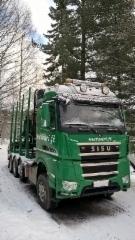 Syntyessään Suomen tilavin SisuPolar kuormatila oli tässä' autossa.