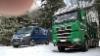 Puistometsäpalvelun Sisu Polar ja XX - Express Terminatorpalvelu.