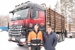 Mikko Uotinen ja Vehon Seppo Silvennoinen - hyvää yhteistyötä jo pitkään