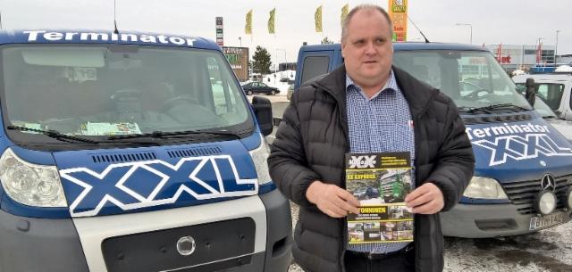 XX Magazinen uusin numero postitettu ja näkyy taukopaikoilla ympäri Suomen.