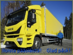 NEK ja Iveco toivottaa Hyvää Pääsiäistä 2016!