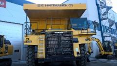 Kokonaispainoa joskus jopa 150 tonnia - ja kahdella akselilla.