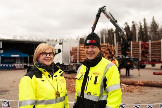 Puunkuormaajamestari 2016 - Vantaa 18.4.