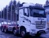 Iveco vauhdissa FIA EM Truck Racessa Red Bull Ringillä Itävallassa - ohjaksissa Markus Altenstrasser joka työskentelee hakkurivalmistaja Eschlböckin teknisenä johtajana