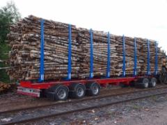 Miltäpä tuntuisi heittää ison junavaunun kuorma täyteen yhdestä yhdistelmäkuormasta - onnistuukohan - täytynee testata sekin !!!!