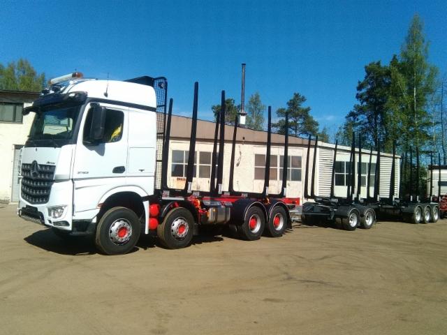 MB yhdistelmä 76 tonnin kokonaispainoluokkaan.