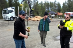 Puunkuormaajamestari 2016 - Kuusamo 23.5. Jari Sarajärvi