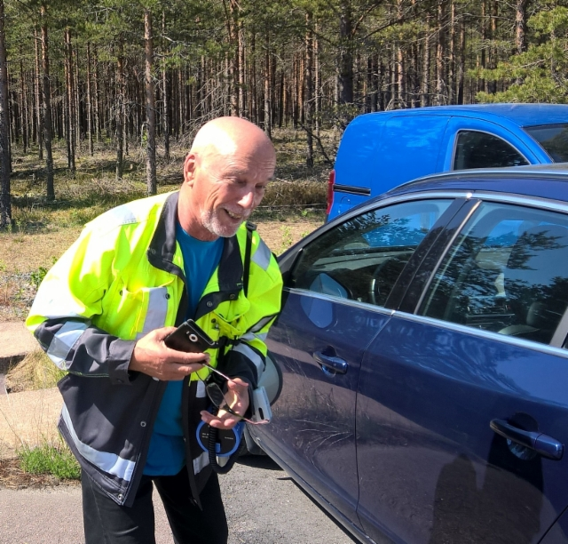 Liikenneturvallisuustutkimukset Alastarolla 25.5.2016. Hengessä mukana Liikenneturva.