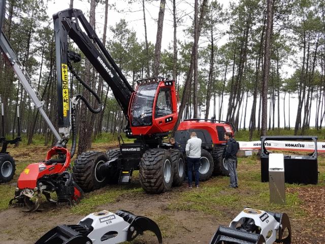 Forexpo 2016 metsäkonemessut Ranskassa