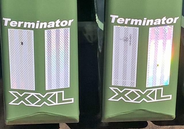 Terminator värivalikoimassa on kaikille mieluinen yhdistelmää pukeva värisävy.