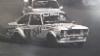 Alukarikan aerodynaamista ja toiseltapuolenlaukeavaa pankkomallia mainostettiin Ford BDA kisapirssissä Vaasan maaradalla 1987. Keulapiikissä 041 pirssillä on tässä Heikki Saarela.