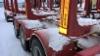 Lumikuormaylitykset karsivat 76 tonnisten kannattuvuutta ajossa StoraEnsolle.