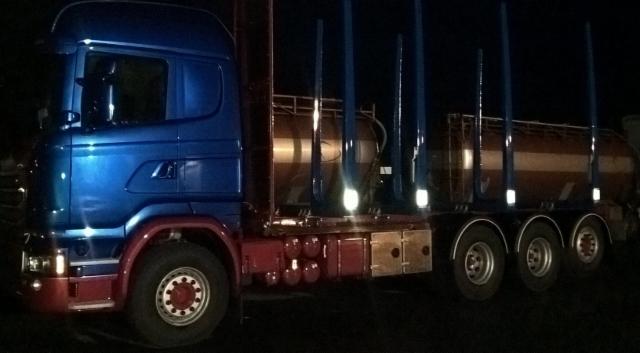 Power Truck Show 2016 puutavara-autot.