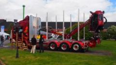 Power Truck Show 2016 - puutavarayhdistelmät.