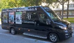 Ammattilehti.fi Mediamobiili - tuttu näky jatkossa alan tapahtumissa ja tien päällä