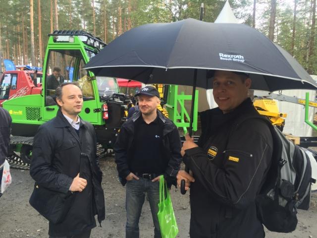 Anssi Pitkäranta, Ponsse - FinnMetko 2016