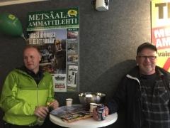 Tomi Reinikainen, Aimo Reinikainen - FinnMetko 2016