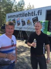 Jarmo Vidgén, Pekka Rajala, Ponsse - FinnMetko 2016