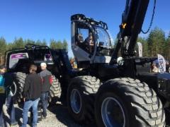 Logset 12H hybridiharvesteri - FinnMETKO 2016