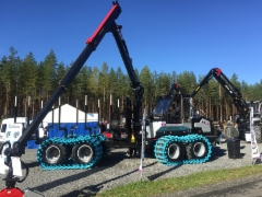 Logset 5F GT - Ruukin Metsätyö Oy - FinnMetko 2016