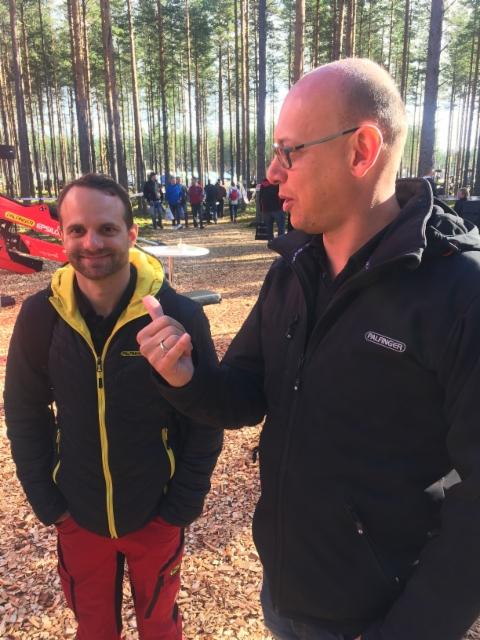Stefan Obertleitner ja Rupert Wieser - Palfinger Epsilon - FinnMetko 2016