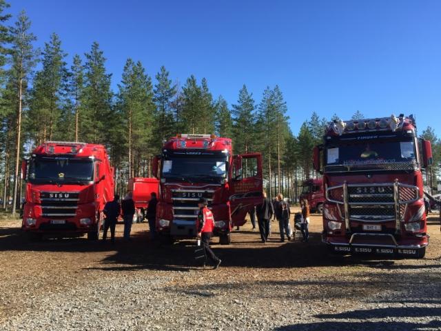 Sisu Polar autoja oli esillä suuri määrä - FinnMetko 2016
