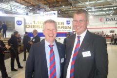 Andreas Schmitz ja Heikki Alamettälä - Schmitz Cargobull - IAA 2016