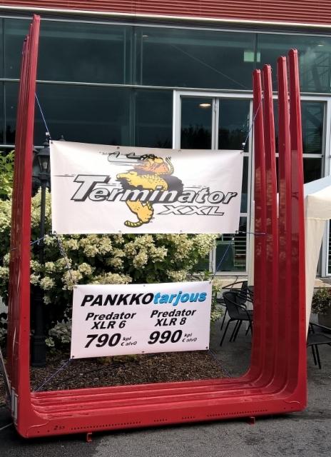 Pankkotarjouksia ja edullisimmat nostokoukut Terminatorimiesten suuskierrokselta.