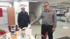 Hella Valovoimakiertue 2016 - Kajaani 13.10. Raskone