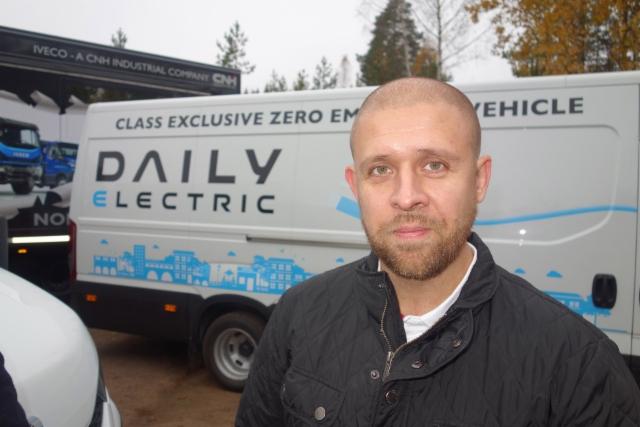 ive5Iveco Daily E6 lehdistön koeajopäivä 14.10.2016 Porvoossa - Pasi Gerpe