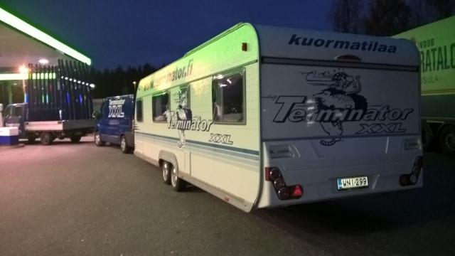 Terminatormiesten Syyskiertue - Rauma UPM / Metsä Fibre.