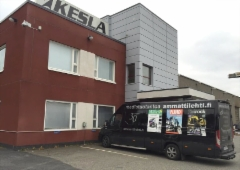 Ammattilehden Mediamobiili poikkesi Itä-Suomen kiertueella mm. Keslan tehtaalla Joensuussa