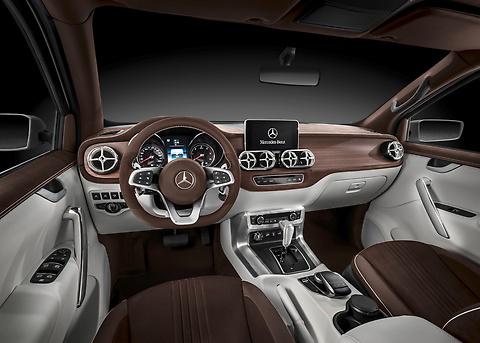 Uusi Mercedes-Benz X-CLASS pick-up auto tulossa markkinoille